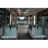 Quality Comfortable 14 Seater International Airport Bus With BRIDGESTONE Tire for sale