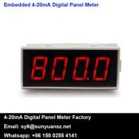 Quality 4-20mA Loop Powered Digital Panel Meters LED Display SYLED2 for sale
