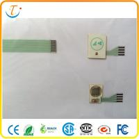 China Metal Dome Tactile Membrane Switch Embossed With LED Light on sale