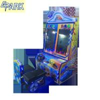Quality Kids coin pusher car racing selling arcade game machine for sale for sale