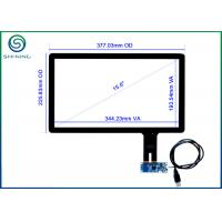 Quality 15.6 Inch Capacitive Touch Screen Panel With USB Interface For Panel PCs, Kiosks, POS Terminals CT-C8047-15.6 for sale