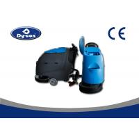 Buy Hand Held Durable Commercial Floor Cleaning Machines With Cleaning Pad Low Noise at wholesale prices