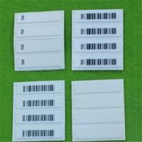 Buy cheap Customized Cloth Anti Theft Labels With Barcode Printing / Retail Security from wholesalers