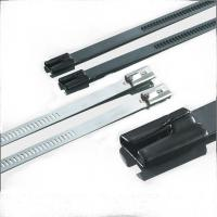 Quality Waterproof Braided Stainless Steel Cable Ties , Reinforced Cable Ties Antirust for sale