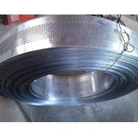 Quality 0.5mm thickness 4mm hole galvanized Perforated Metal Mesh Coil for sale