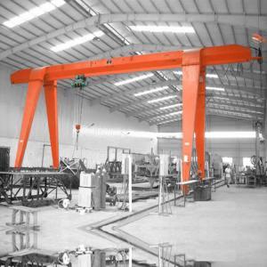 Quality 15 Ton Single Girder Gantry Crane / Quay Portable Container Gantry Crane for sale