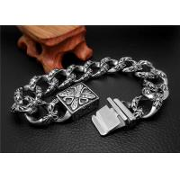 Buy Shopping Gift Stainless Steel Bangle Bracelets With Square Buckle Charm Bracelets at wholesale prices