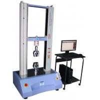 Quality 100N To 50KN Servo Control Plastic / Rubber Tensile Universal Test Machine for sale