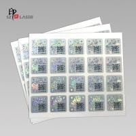 Quality Sheet Package Custom Hologram Die Cut Sticker for sale