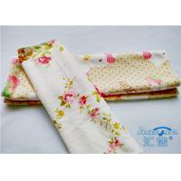 Household Microfiber Printed Kitchen Cleaning Cloth / Microfiber Towels
