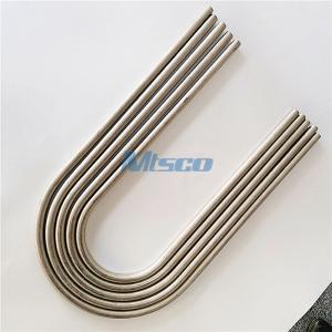 Quality Instrumentation Nickel Alloy 825/625 Heat Exchange U Tube Small Diameter for sale