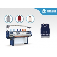 Quality Synthetic LCD 12G Computerized Flat Knitting Machine for sale