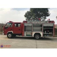 Quality China IV Emission 4x2 Drive Water Tanker Fire Truck With Strobe Lights for sale