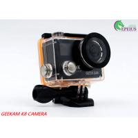 Quality Compact 2 Inch Dual Screen 4k Waterproof Action Video Camera K8 360VR 170 Degree for sale