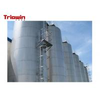 Buy cheap Large Capacity Dairy Processing Machine Outdoor Milk Storage Tank 20000~200000L from wholesalers