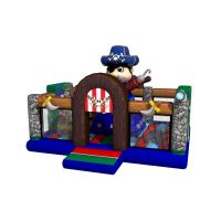 Buy cheap Hot inflatable pirate themed bouncy full printing inflatable pirate topic jump from wholesalers