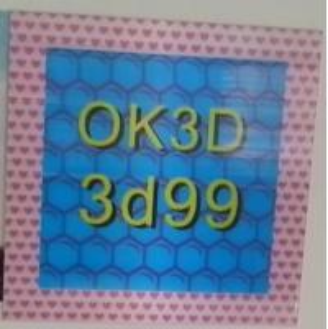 Quality OK3D hot sales fly-eye lens 3d photo frame 3d fly eye photo frames,dot lenticular frames,3d fly eye photo frames prints for sale