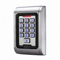 Quality Waterproof access control system, IP68, available in 2,000 codes for sale