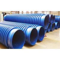 China Corrugated Fiber Reinforced HDPE Pipe on sale