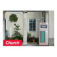 Quality Church Kiosk Free Cell Phone Charging Kiosk 6 Electronic Lockers for sale