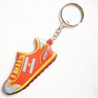 Quality custom shoes Key chain silicone rubber keychain for sale