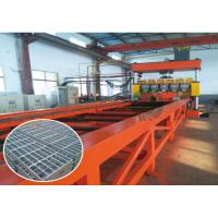 Buy cheap Big Type Full Automatic Grating Wire Mesh Fencing Machine / Production Line from wholesalers