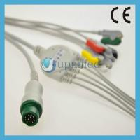 Quality Mindray One piece 5-lead ECG Cable with leadwires for sale