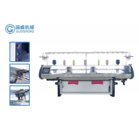 Quality Jacquard Collar Knitting Machine T Shirt Double Carriage Automatic for sale