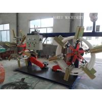 High Speed Plastic Pipe Extrusion Line , Carbon Spiral Reinforcing HDPE Pipe Extrusion Line