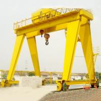 Buy cheap 100 Ton Double Girder Container Gantry Crane Launching Gantry Crane Yellow Color from wholesalers