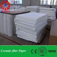 Quality 1260C HP heat resistant insulation wool paper standard size for sale