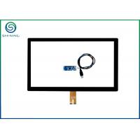 Buy cheap PCAP Touch Screen Panel 21.5 Inch With Front Glass Optically Bonded On Touch from wholesalers