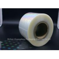 Clear Holographic BOPP Shrink Film 2400m - 2800m Length Thermal Laminating