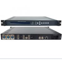 Quality Single Channel MPEG4/AVC/H.264 HD Video Encoder, 720P 1080I 1080P HD video format for sale