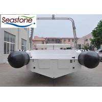 Quality Hypalon  850cm Rigid Hulled Inflatable Boat Bottom Stainless Steel Protection for sale