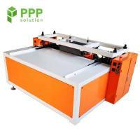 Quality 3mm-6mm Round Corner PP Side Edge Sealing Machine for Glass Bottle Layer Pad for sale