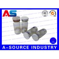 Quality Embossed Logo Miniature Glass Vials Clear For Pharmaceutical Packaging for sale