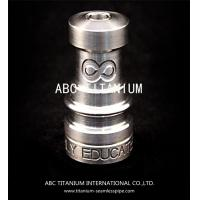 Quality wholesale nail supplies universal domeless titanium nail with GR2 14mm/18mm for sale