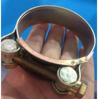 Quality W1-W5 single bolt hose clamp used for pipe clamp for sale