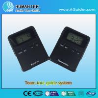 Quality 008A Hot Design Portable Wireless Voice  Transmitter  Mini  Black Team Audio Guide System for sale