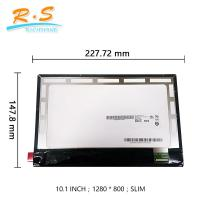 Buy cheap AUO 10.1 inch IPS 1920*1200 lcd laptop display with MIPI 34 pin from wholesalers