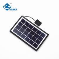China 9V 3W solar panel photovoltaic for solar power system ZW-3W-9V-1 portable solar charger on sale