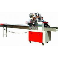 China Cake / Bread Pillow Packing Machine Easy Operate Touch Screen Display on sale