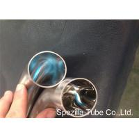 Quality OD / ID Polished Short 45 Degree Elbow TP304 TP316L Stainless Steel Weld Fittings for sale