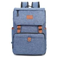 Quality Durable Linen Nylon Travel Hiking Backpack / Outdoor Laptop Backpack for sale