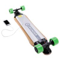 Quality Long Board Electric Penny Board With 237.6Wh Lithium Ion Battery , 28km Max Range for sale
