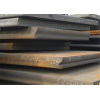 Quality Shipbuilding Hot Rolled Low Carbon Steel , Diamond Plate Steel Sheets for sale
