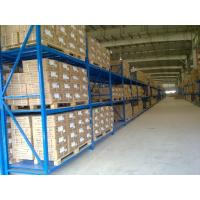 Quality Three levels pallet stock steel heavy duty shelving racks for industrial storage for sale