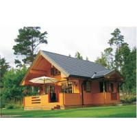 China prefabricated log cabin and garden shed DY-D-034 on sale