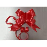 Quality 15 * 300mm Butterfly Pull Bows for Floral Decoration , christmas gift box ribbons and bows for sale